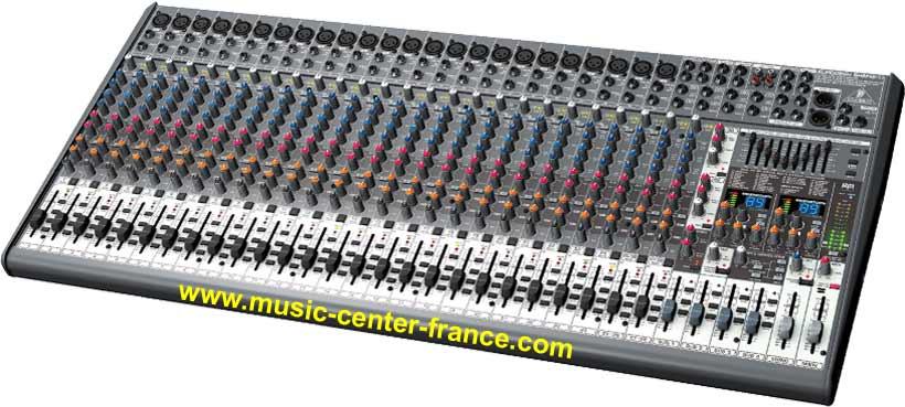 console musicien mixer table de mixage usb behringer eurodesk sx3242fx sx3242 3242fx fx sx. Black Bedroom Furniture Sets. Home Design Ideas