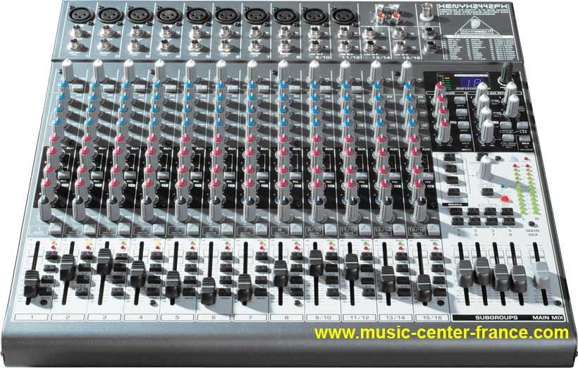 table de mixage usb home studio