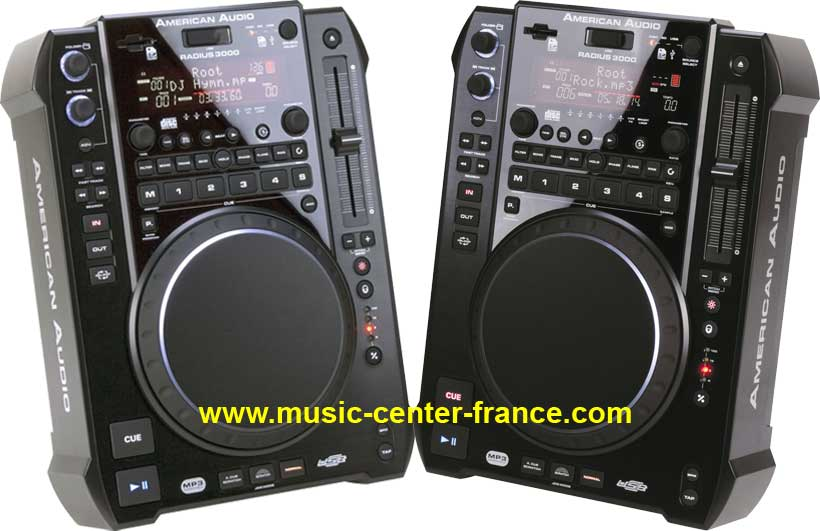 american audio adj radius 3000 platine cd dj mp3 usb carte sd g 2 ans ebay. Black Bedroom Furniture Sets. Home Design Ideas