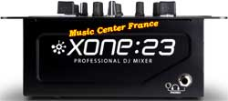 allen & heath xone23 xone 23 table de mixage mixer face avant