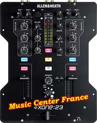 allen & heath xone23 xone 23 table de mixage mixer top