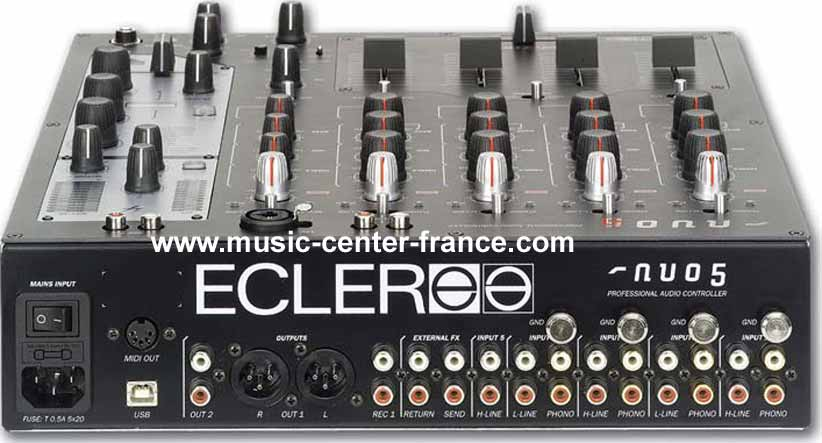 table de mixage ecler evo 5