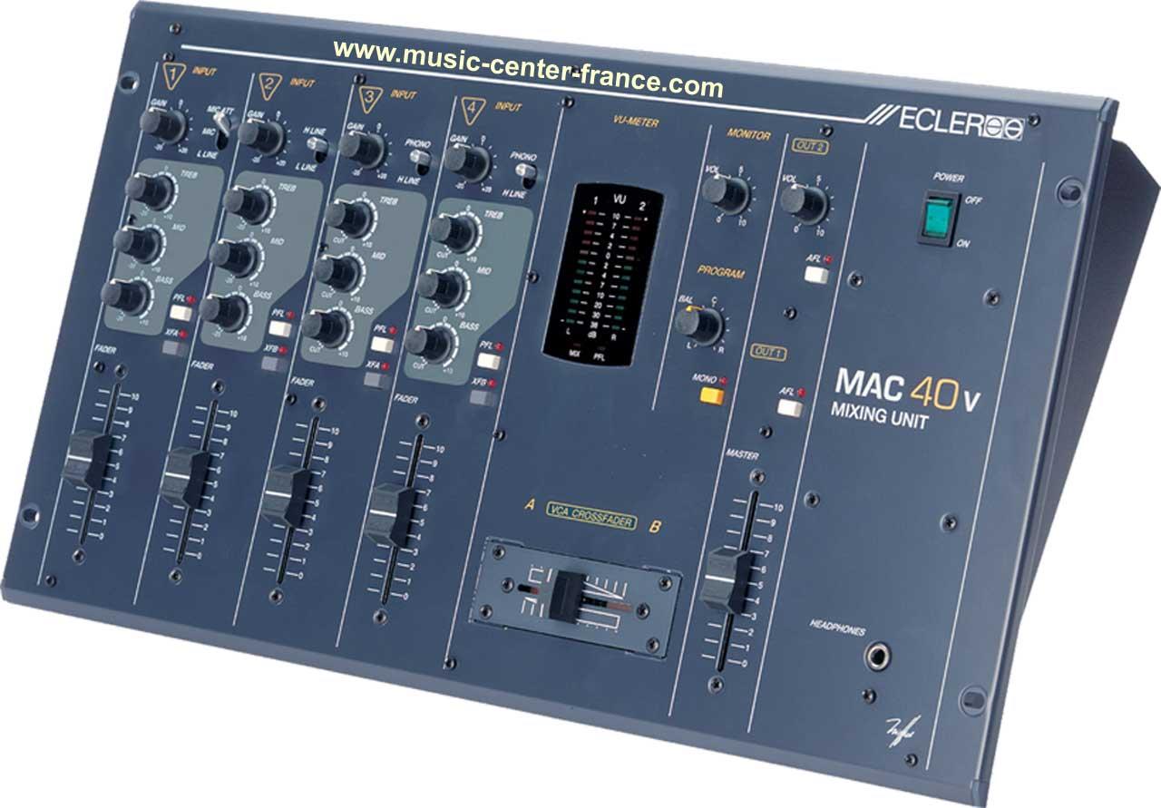 table de mixage mac