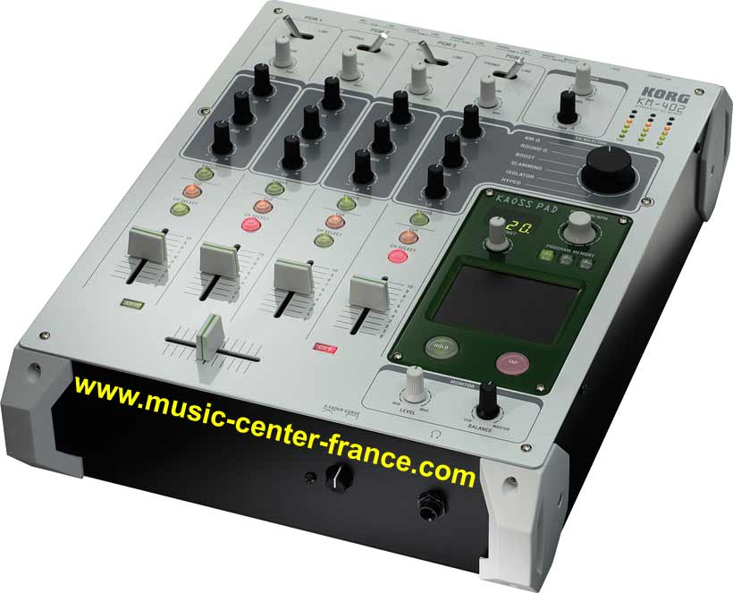 table de mixage korg
