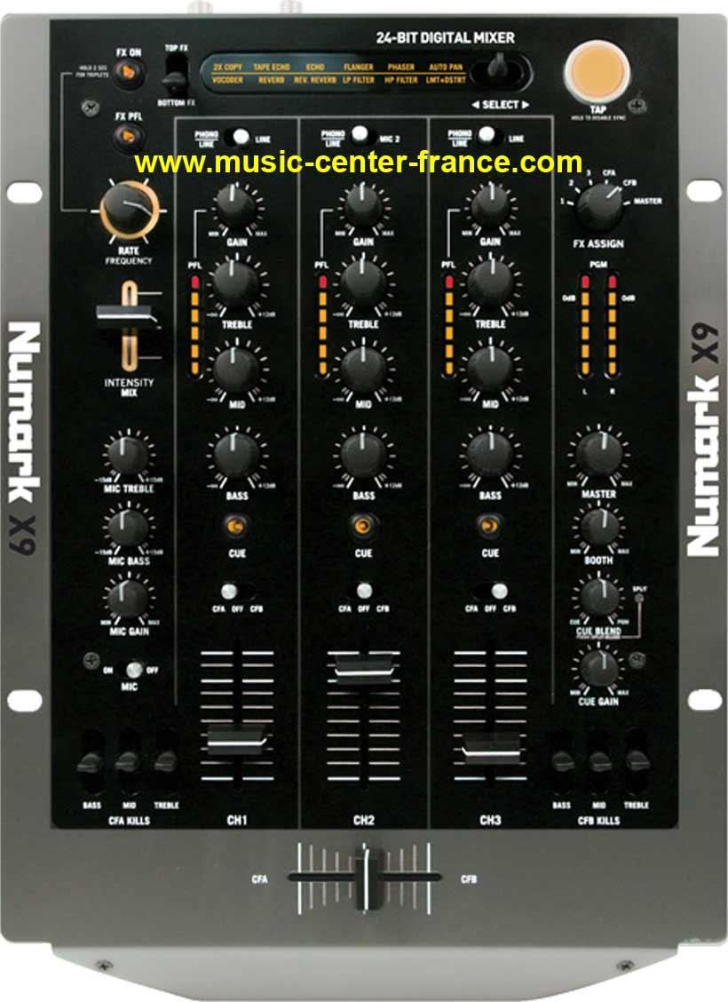 table de mixage numark 3 voies