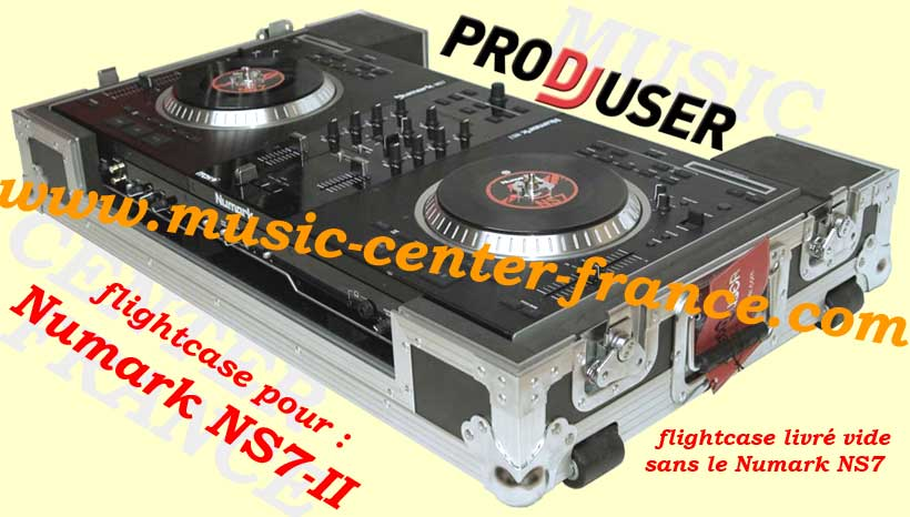 flightcase pro dj user pour contrleur numrique numark ns7. Black Bedroom Furniture Sets. Home Design Ideas