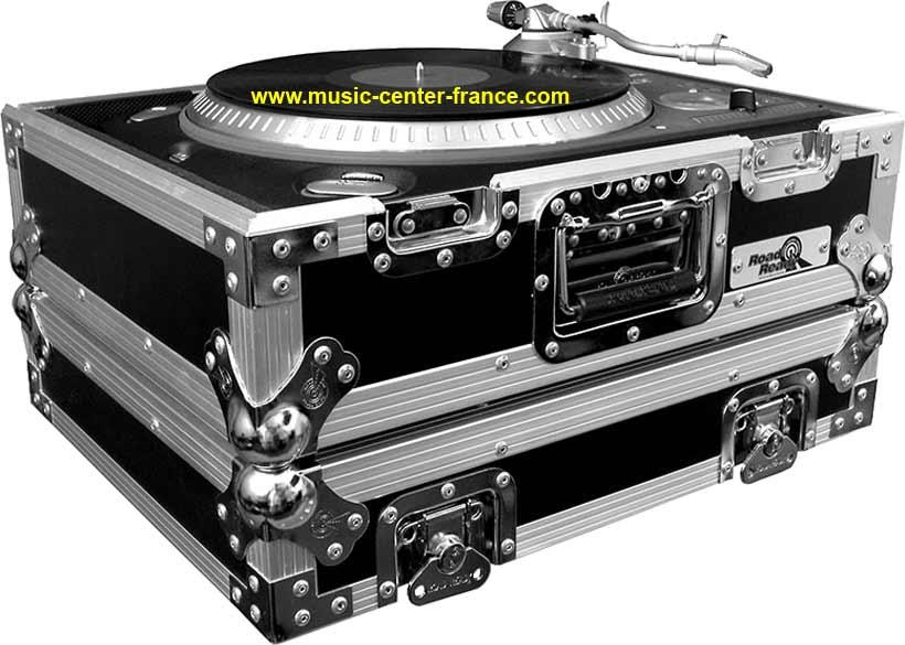 flightcase flight fly rgie platine vinyl vinyle technics. Black Bedroom Furniture Sets. Home Design Ideas