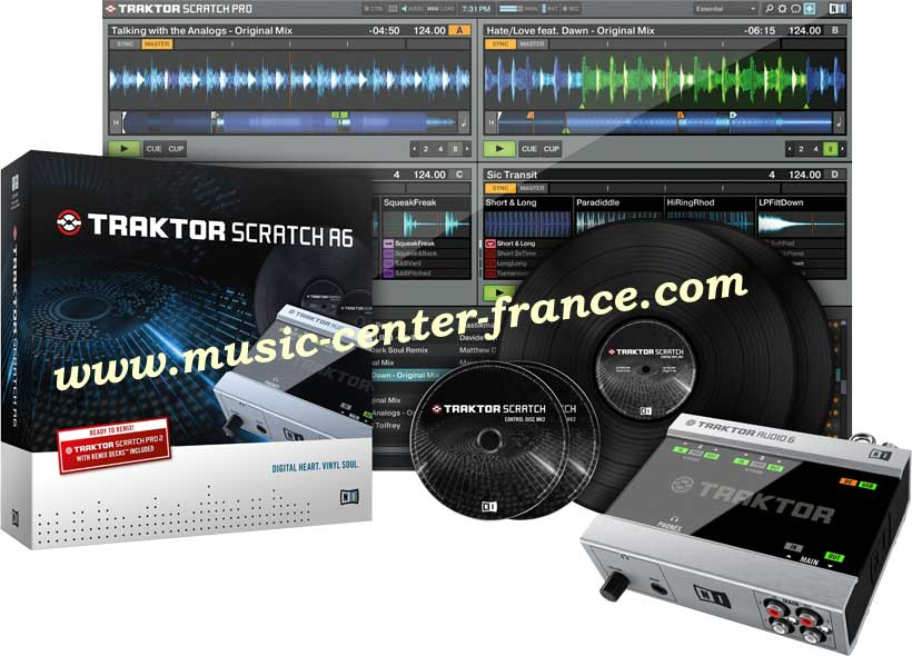 contr leur num rique native instruments traktor scratch a6 duo2 duo 2 animation bar th me. Black Bedroom Furniture Sets. Home Design Ideas
