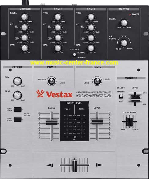 table de mixage vestax