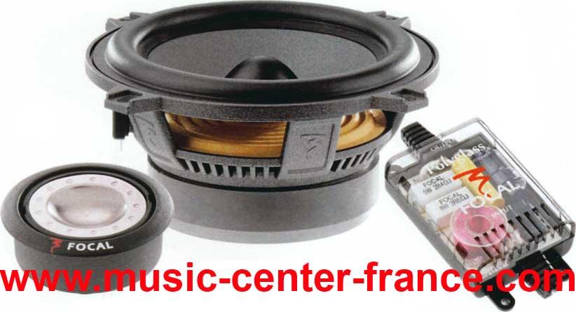 haut parleur hp kit clat tuning iasca focal 130 a a1 v v1 v2 1 2 slim music center france. Black Bedroom Furniture Sets. Home Design Ideas