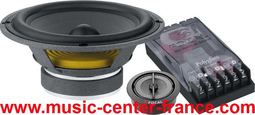 haut parleur hp kit clat tuning iasca focal 165 v v1 v2 slim music center france. Black Bedroom Furniture Sets. Home Design Ideas