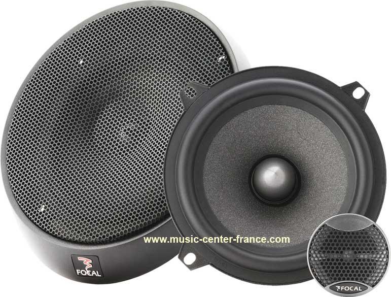 haut parleur hp coaxial kit clat s par focal int gration is130 is 130 ampli auto radio. Black Bedroom Furniture Sets. Home Design Ideas