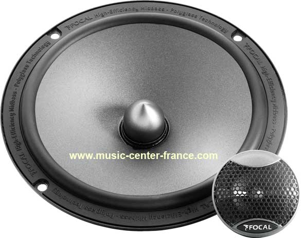 haut parleur hp coaxial kit clat s par focal int gration is165 is 165 ampli auto radio. Black Bedroom Furniture Sets. Home Design Ideas